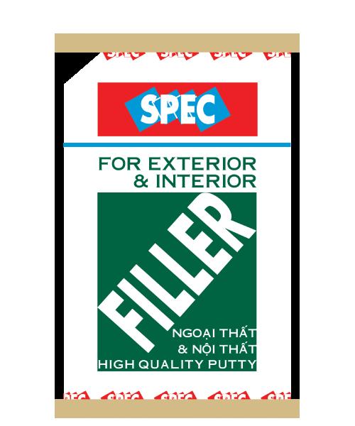 Bột trét tường nội và ngoại thất cao cấp filter xanh