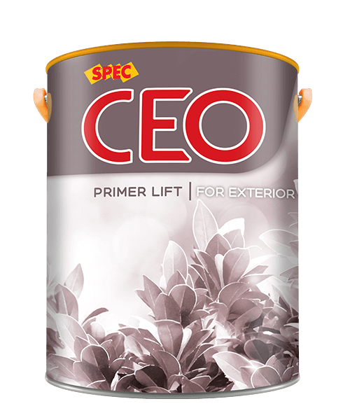 Spec ceo primer lift for exterior 4,375l sơn lót ngoại thất siêu trắng kháng kiềm và kháng muối
