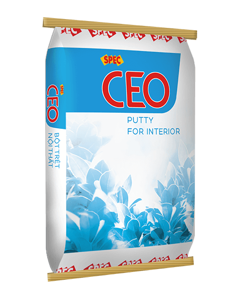 spec ceo putty for interior bột trét nội thất