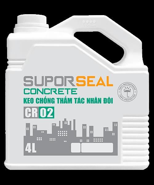 Suporseal concrete cr02 4l keo chống thấm tác nhân đôi