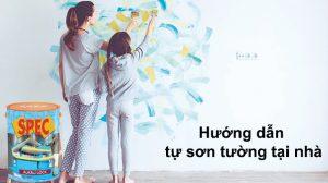 Hướng dẫn tự sơn tường tại nhà